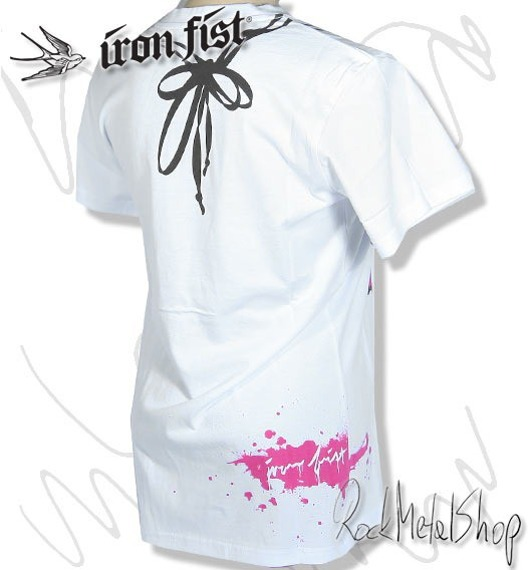 bluzka damska IRON FIST (GOOD CLEAN FUN-WHITE)