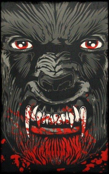 bluzka damska IRON FIST - WOLF BEATER (BLACK)