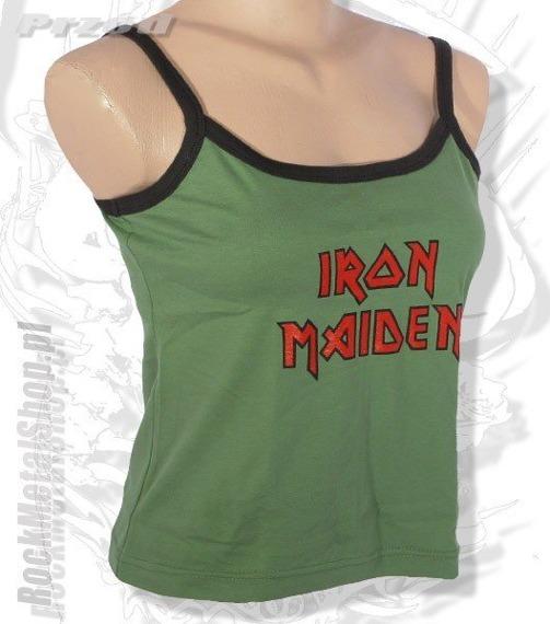 bluzka damska IRON MAIDEN na ramiączka