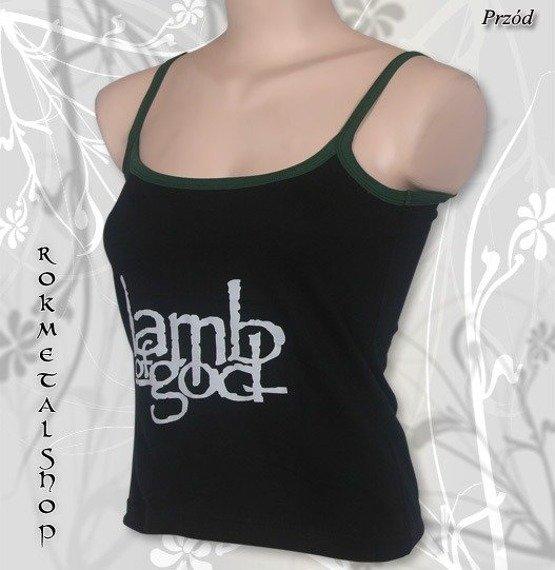 bluzka damska LAMB OF GOD na ramiączka