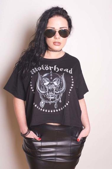 bluzka damska MOTORHEAD - SKULL