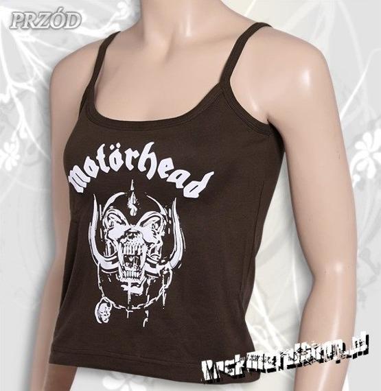 bluzka damska MOTORHEAD brązowa na ramiączkach