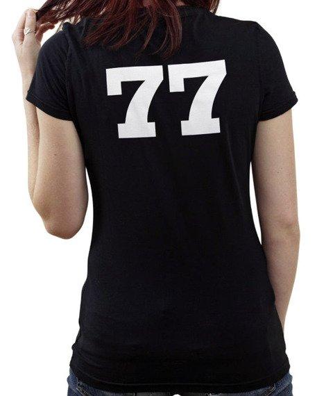 "bluzka damska PRAWDA - ""77 czarna"