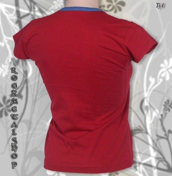 bluzka damska SLIPKNOT czerwona