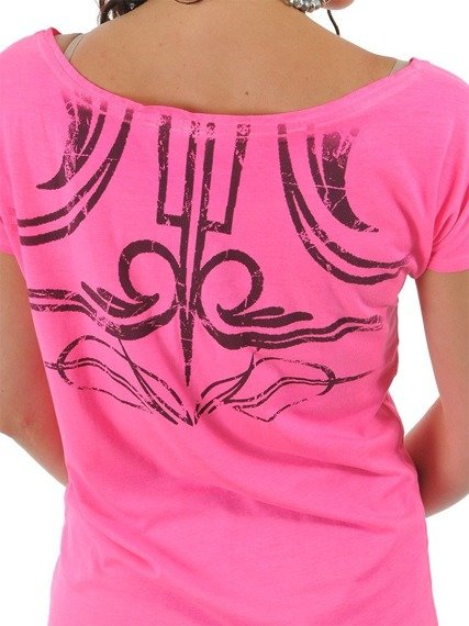 bluzka damska WEST COAST CHOPPERS - GRAG pink