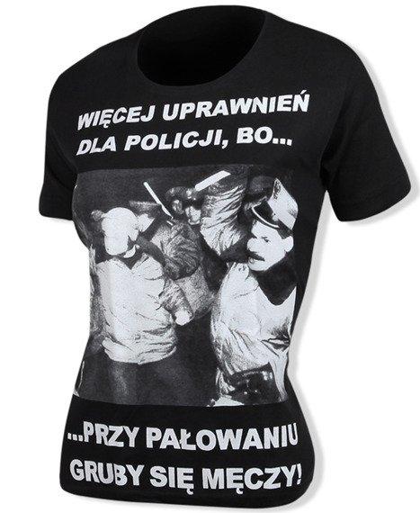 bluzka damska WIĘCEJ UPRAWNIEŃ DLA POLICJI...