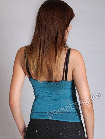bluzka na ramiączka NESS turkus