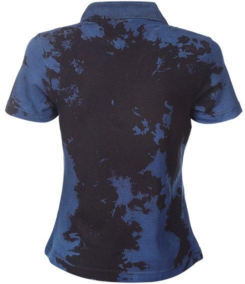 bluzka polo barwiona BLUE MIX - SPIDER