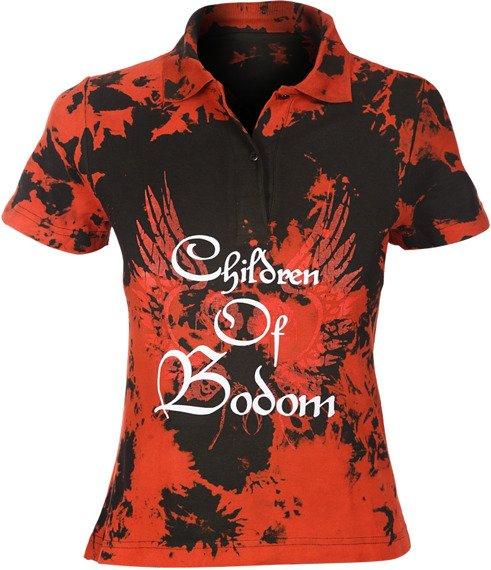 bluzka polo barwiona CHILDREN OF BODOM