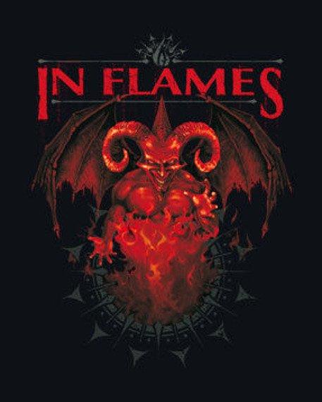 body dziecięce IN FLAMES - JESTER black