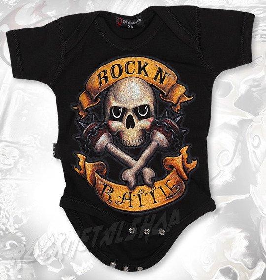 body dziecięce SPIRAL - ROCK N' RATTLE