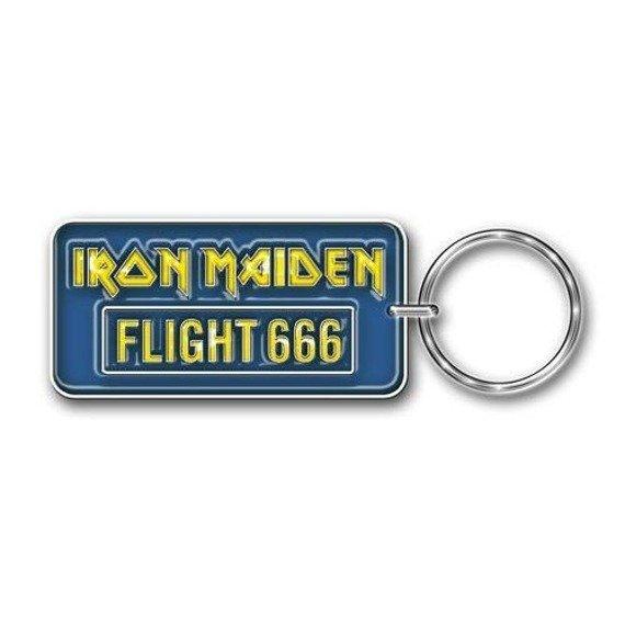brelok IRON MAIDEN - FLIGHT 666