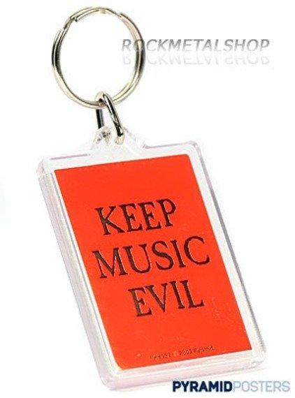 brelok KEEP MUSIC EVIL PK8552