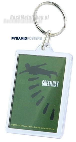 brelok do kluczy GREEN DAY (BOMBS) (PK5390)