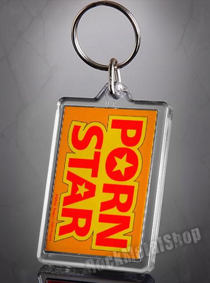 brelok do kluczy PORN STAR
