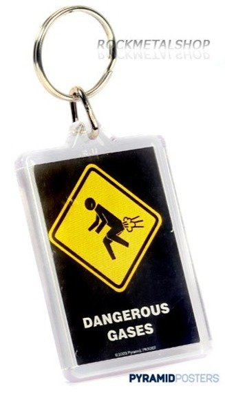brelok do kluczy WARNING SIGN - DANGEROUS GASES (PK1067)