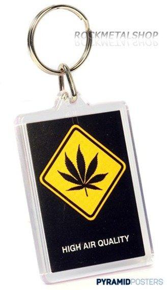 brelok do kluczy WARNING SIGN - HIGH AIR QUALITY [7022)