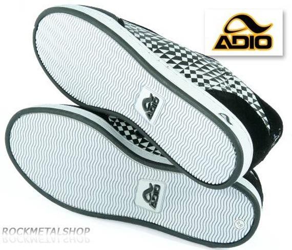 buty ADIO - IMPACT (black-black-pattern)