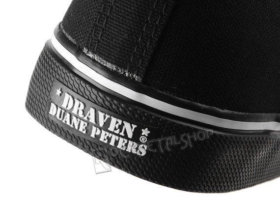 buty DRAVEN - DUANE PETERS black/white (MCDP02)