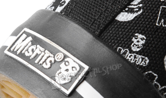 buty DRAVEN - MISFITS OPTICS LOW black/white