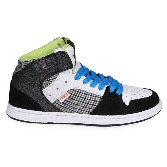 buty damskie ETNIES - PERRY MID (BLACK/GREY/WHITE)