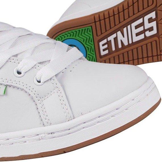 buty damskie Etnies - FADER (WHITE/GREEN/GUM)