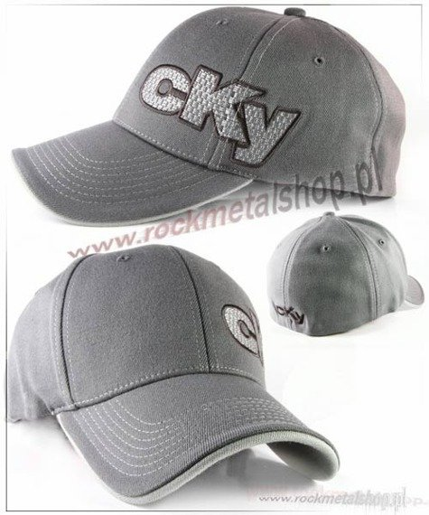 czapka CKY - Offset Grey Fitted Bioworld