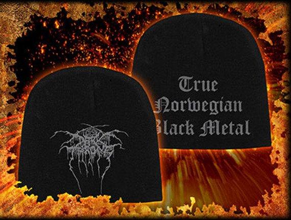 czapka DARKTHRONE - TRUE NORWEGIAN BLACK METAL, zimowa