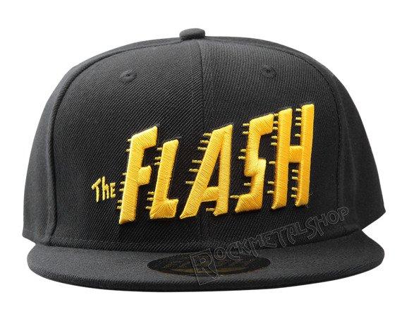 czapka FLASH - BIG TEXT czarna