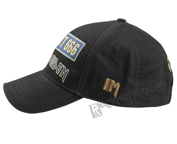 czapka IRON MAIDEN - FLIGHT 666