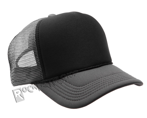 czapka MASTERDIS - BASEBALL CAP TRUCKER, ht. charcoal/black