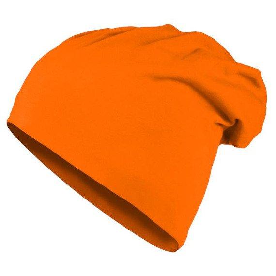 czapka MASTERDIS - JERSEY BEANIE neonorange