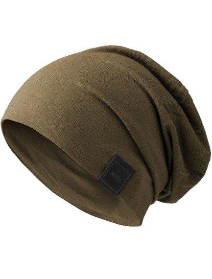 czapka MASTERDIS -  MSTRDS JERSEY BEANIE olive