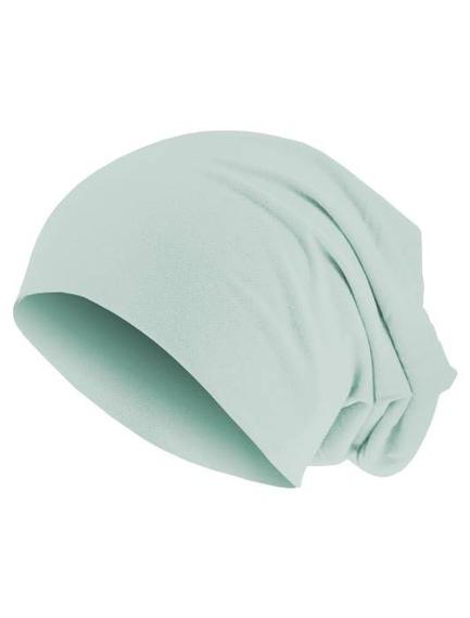 czapka MASTERDIS - PASTEL JERSEY BEANIE ice blue