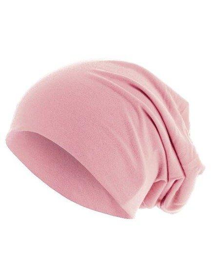 czapka MASTERDIS - PASTEL JERSEY BEANIE lt. pink