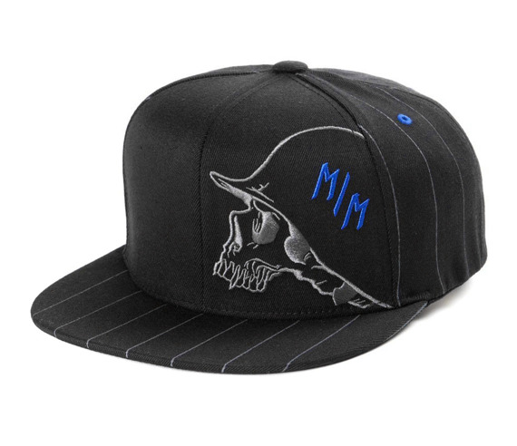 czapka METAL MULISHA - STEEP black/blue