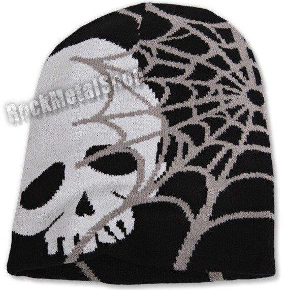 czapka SKULL SPIDER'S WEB