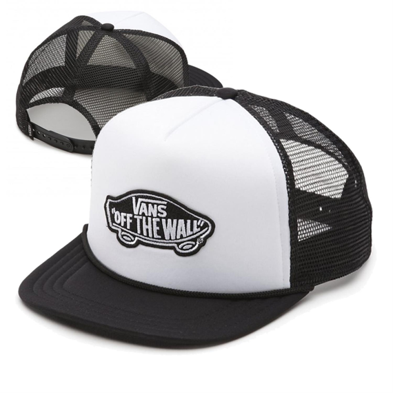 czapka VANS - CLASSIC PATCH TRUCK WHITE BLACK