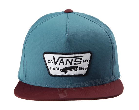 czapka VANS - FULL PATCH STARTER STORM BLUE