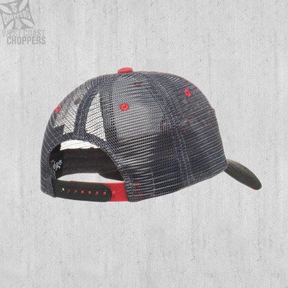 czapka WEST COAST CHOPPERS - CHOPPERDOGS ROUND BILL TRUCKER