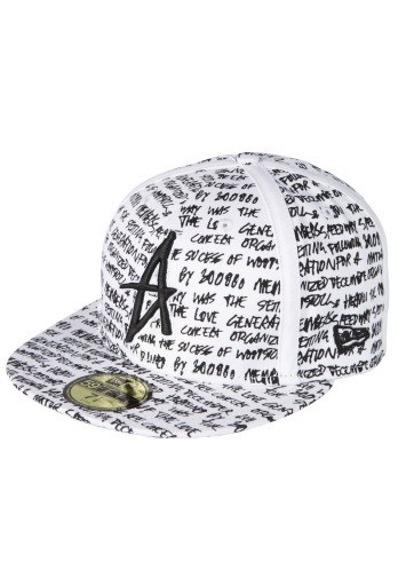 czapka z daszkiem ALTAMONT - SCRIPT (WHITE) 09'