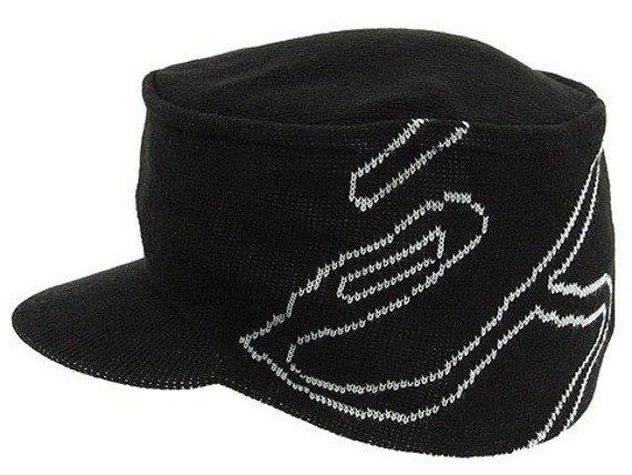 czapka zimowa ES -  VIGO (BLACK) 09'