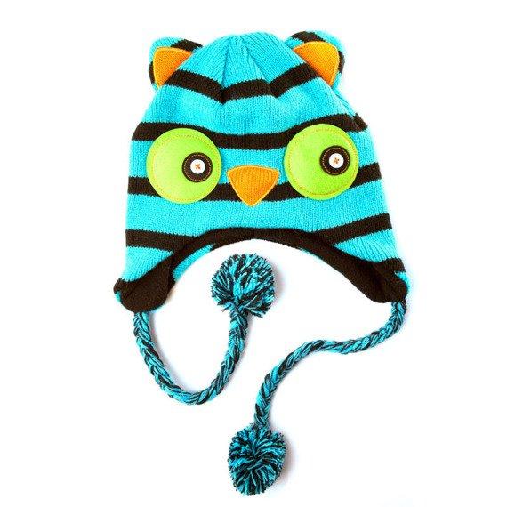 czapka zimowa FREAKS AND FRIENDS - STRIPED OWL LAPLANDER