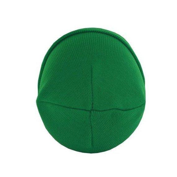 czapka zimowa MASTERDIS - BEANIE BASIC FLAP kelly