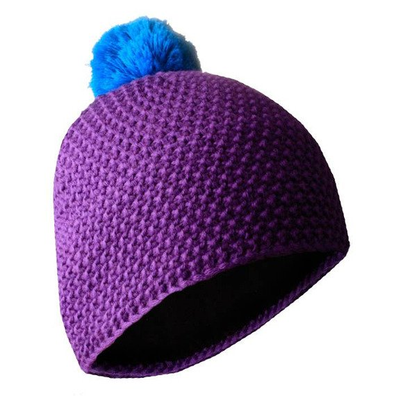 czapka zimowa MASTERDIS - BEANIE POLAR purple/turquoise