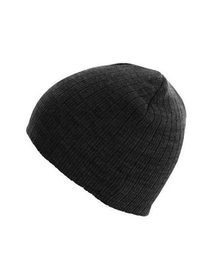 czapka zimowa MASTERDIS - BEANIE REGULAR ht.charcoal