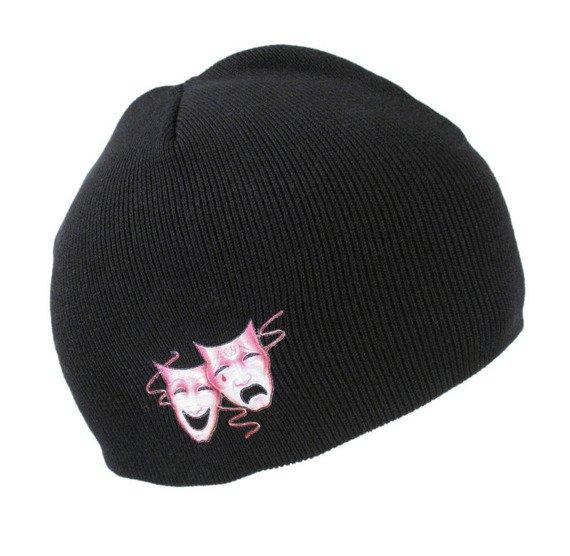 czapka zimowa MOTLEY CRUE - MASKS LOGO