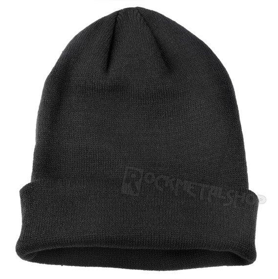 czapka zimowa ROLLSTRICKMÜTZE FEINSTRICK ACRYL