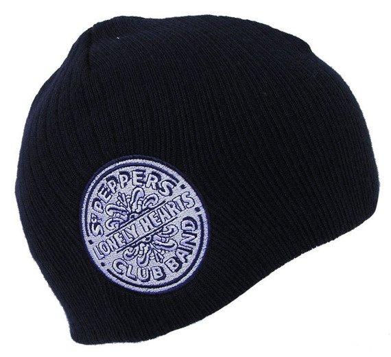 czapka zimowa THE BEATLES - SGT PEPPER'S (NAVY)