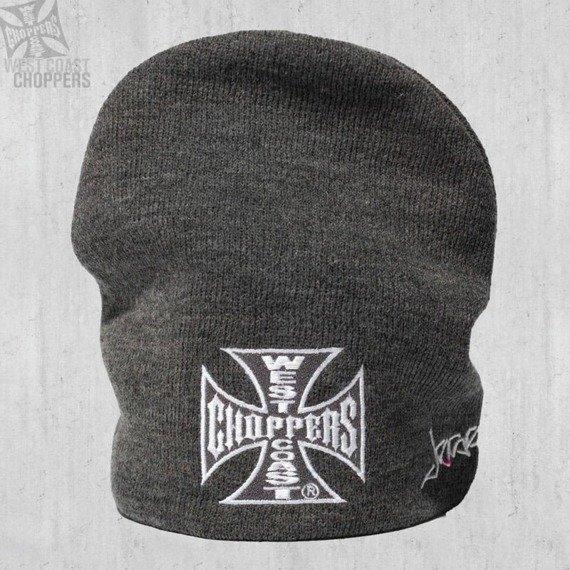 czapka zimowa WEST COAST CHOPPERS - IRON CROSS